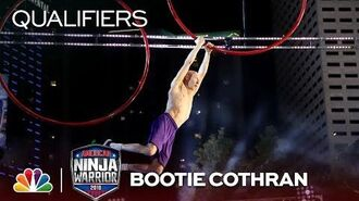 Bootie Cothran at the Miami City Qualifiers - American Ninja Warrior 2018
