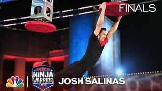 Josh Salinas at the Dallas City Finals - American Ninja Warrior 2018