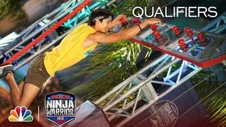 Ruben Arellano at the Los Angeles City Qualifiers - American Ninja Warrior 2018