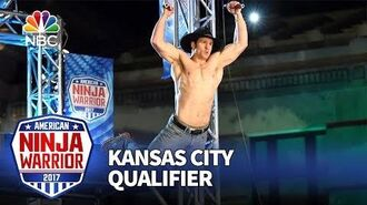 Lance Pekus at the Kansas City Qualifiers - American Ninja Warrior 2017