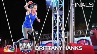 Brittany Hanks at the Dallas City Finals - American Ninja Warrior 2018