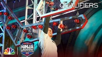 Brian Rambo at the Los Angeles City Qualifiers - American Ninja Warrior 2018