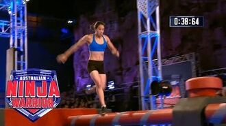 Ninja run Andrea Hah (Semi Final) Australian Ninja Warrior 2018