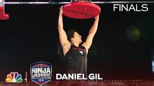 Daniel Gil at the Dallas City Finals - American Ninja Warrior 2018