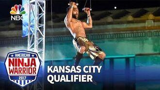 Devin Harrelson at the Kansas City Qualifiers - American Ninja Warrior 2017