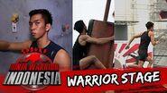 Angga Cahya 'Atlet Nasional jadi Ninja' Sasuke Ninja Warrior Indonesia 7 Feb 2016