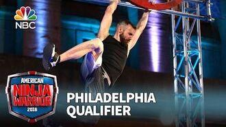Ryan Stratis at the Philadelphia Qualifier - American Ninja Warrior 2016
