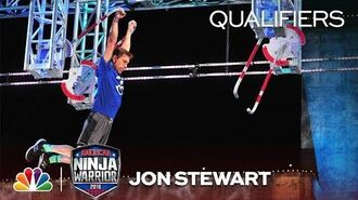 Jon Stewart at the Dallas City Qualifiers - American Ninja Warrior 2018