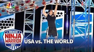 Drew Drechsel's Stage 3 Run - American Ninja Warrior- USA vs