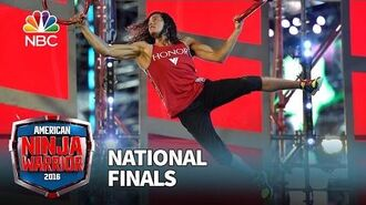 Daniel Gil at the National Finals- Stage 2 - American Ninja Warrior 2016
