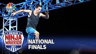 Josh Levin at the Las Vegas National Finals- Stage 1 - American Ninja Warrior 2017