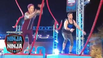 Qualifying Episode 9 - Jamie Rahn Vs. Drew Knapp - American Ninja Warrior- Ninja Vs