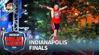 Dan Polizzi at the Indianapolis Finals - American Ninja Warrior 2016