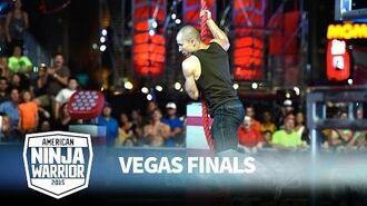 Dustin McKinney at the Vegas Finals- Stage 1 - American Ninja Warrior