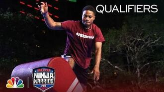 Gabe Stewart at the Miami City Qualifiers - American Ninja Warrior 2018