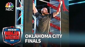 Grant Clinton at the Oklahoma City Finals - American Ninja Warrior 2016