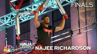 Najee Richardson at the Philadelphia City Finals - American Ninja Warrior 2018