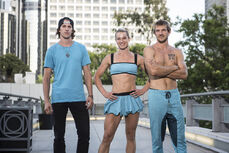 -7 The G-Force- Jessie Graff (Captain). Jesse La Flair and Nicholas Coolridge (Team Ninja Warrior Season 2).