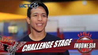 SASUKE NINJA WARRIOR INDONESIA - M. Ibnu Rusdy Noe Di Challenge Stage 29 Juli 2017