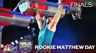 19-Year-Old Rookie Matthew Day at the Dallas City Finals - American Ninja Warrior 2018