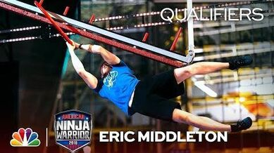 Eric Middleton at the Minneapolis City Qualifiers - American Ninja Warrior 2018