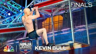 Kevin Bull at the Los Angeles City Finals - American Ninja Warrior 2018