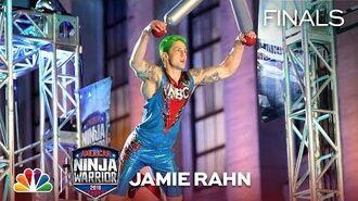 Jamie Rahn at the Philadelphia City Finals - American Ninja Warrior 2018