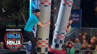 Drew Knapp Vs. James McGrath (S1 E11) - American Ninja Warrior- Ninja Vs