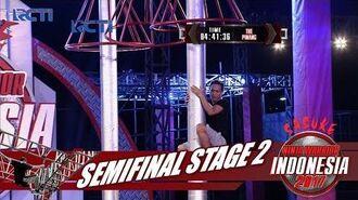 SASUKE NINJA WARRIOR INDONESIA - Mohammad Ibnu Di Semi Final Stage 2 24 September 2017