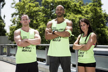 -18 Karsten's Fast Kats- Karsten Williams (Captain)., Kevin Klein, and Joy Strickland (Team Ninja Warrior Season 2).