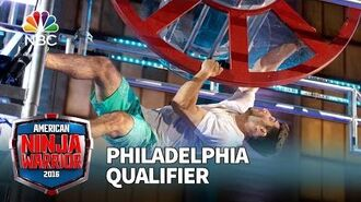 Anthony DeFranco at the Philadelphia Qualifier - American Ninja Warrior 2016