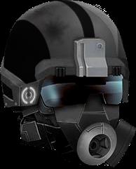 -BLACK- Hardplate Helm