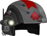Trooper Helmet RED