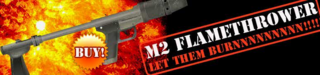 M2A1 Flamethrower poster