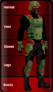 RED Kevlar set
