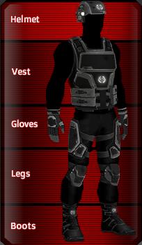 BLACK Trooper set