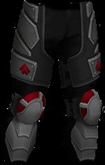 Hardplate Leg Protection RED