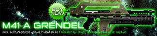 M41-A Grendel Poster