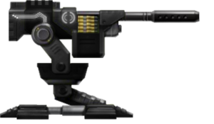 -BLACK- HVM Heavy Machine Gun Sentry