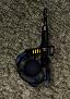 The player is wielding a MAG machine gun in SAS Zombie Assault