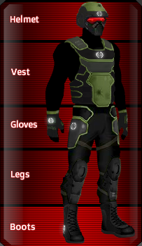 BLACK Kevlar set