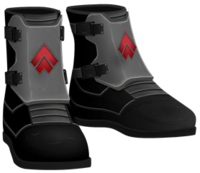 Special Forces Boots RED