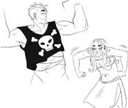 Ipos and sheila crop tops