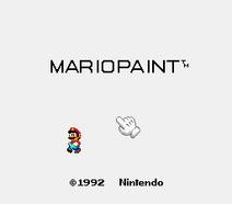 Mario Paint - Yuu Shou Naizou Ban