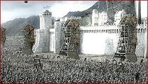 Minas tirith battle