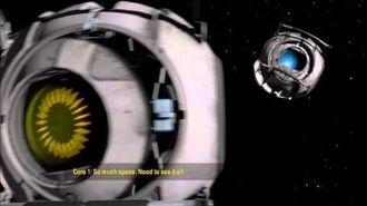 Portal 2 - I'm in space!