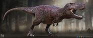 Tyrannosaurus rex saurian by littlebaardo-dcoqdv6