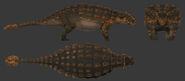 Ankylosaurus female