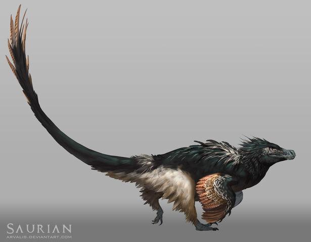 File:Saurian acheroraptor by arvalis-d8p2452.jpg