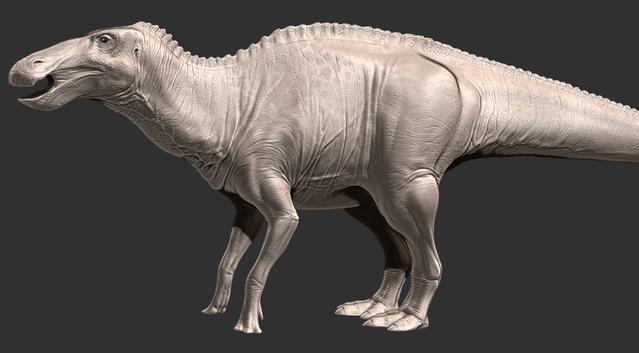File:Anatosaurus model WIP 1.png